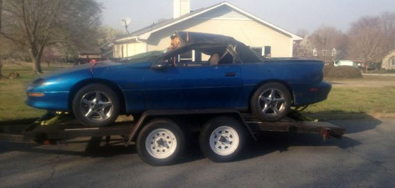 Z28 Project - Step 1: Find a donor car